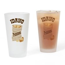 IDAHO Potatoes Drinking Glass