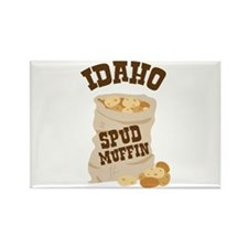 IDAHO SPUD MUFFIN Magnets