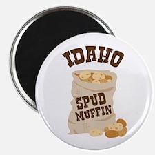 IDAHO SPUD MUFFIN Magnets