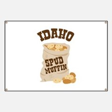 IDAHO SPUD MUFFIN Banner