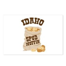 IDAHO SPUD MUFFIN Postcards (Package of 8)