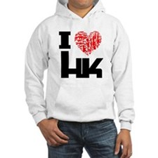 I Love Heckler and Koch HK Hoodie