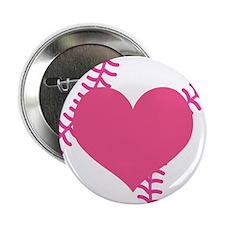 """Softball Lover 2.25"""" Button"""