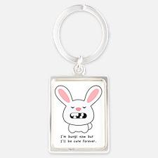 Bungi Bunny Portrait Keychain