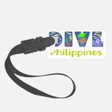 Dive Philippines Luggage Tag