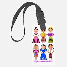 Filipina Island Fashion Luggage Tag