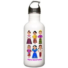 Filipina Island Fashio Water Bottle