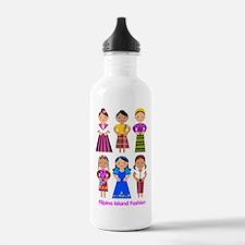 Filipina Island Fashio Water Bottle