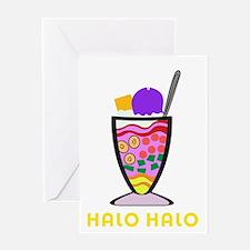 Halo Halo Greeting Card