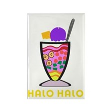 Halo Halo Rectangle Magnet