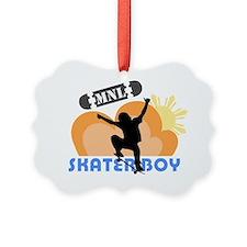 Skaterboy Manila Ornament
