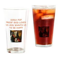 soda pop Drinking Glass