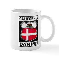 California Danish American Mugs