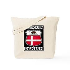 California Danish American Tote Bag