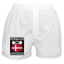 California Danish American Boxer Shorts