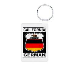 California German American Keychains