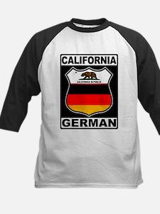 California German American Baseball Jersey