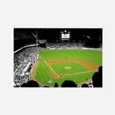 Dodger stadium Rectangle Magnet