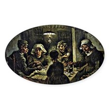 Van Gogh - The Potato Eaters, famou Decal