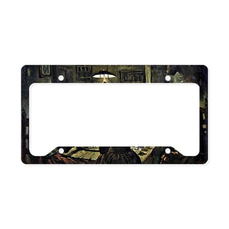 Van Gogh - The Potato Eaters, License Plate Holder