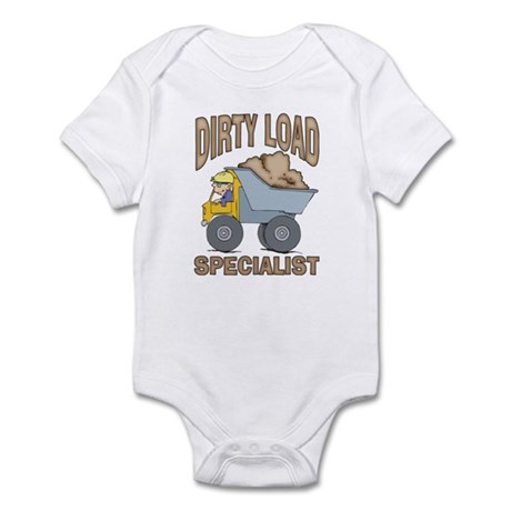 Dirty Load Specialist Infant Bodysuit