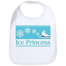 Princess Turquoise Ice Skate Bib