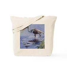 Ibis in Grassy Marsh Tote Bag