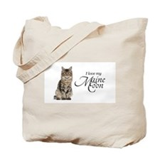 Love My Maine Coon Tote Bag