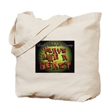 Plays Like A Beast Fastpitch Softball Tote Bag