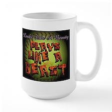 Plays Like A Beast Fastpitch Softball Mug