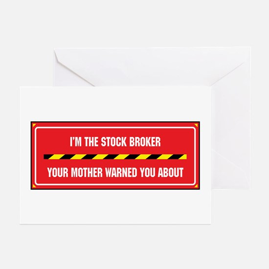 I'm the Broker Greeting Cards (Pk of 10)