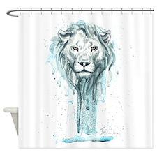 Ink Shower Curtain