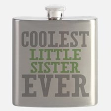 Coolest Little Sister Ever Flask