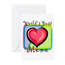 WB Grandma [French Canadian] Greeting Cards (Packa