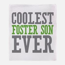 Coolest Foster Son Ever Throw Blanket