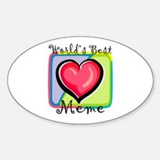 WB Grandma [French Canadian] Oval Decal