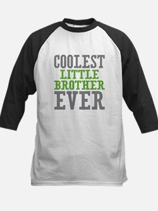 Coolest Little Brother Ever Kids Baseball Jersey