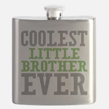 Coolest Little Brother Ever Flask