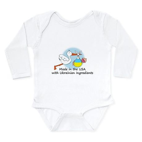 Stork Baby Ukraine USA Body Suit