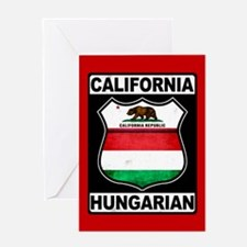 California Hungarian American Greeting Cards