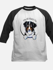 Bernese Mountain Dog IAAM Kids Baseball Jersey