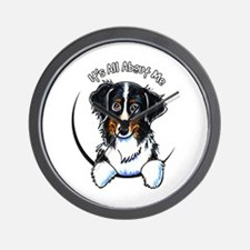 Bernese Mountain Dog IAAM Wall Clock