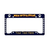 Dog License Plate Frames
