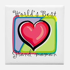 WB Grandma [French] Tile Coaster