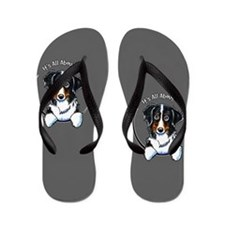 Bernese Mountain Dog IAAM Flip Flops