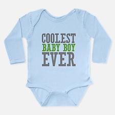 Coolest Baby Boy Ever Long Sleeve Infant Bodysuit