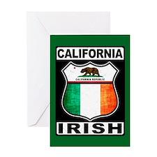 California Irish American Greeting Cards