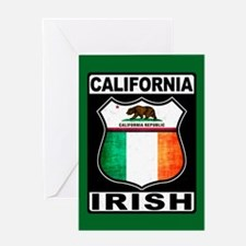 California Irish American Greeting Cards