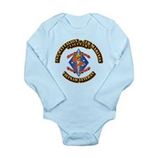 1st Bn - 4th Marines Long Sleeve Infant Bodysuit