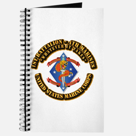 1st Bn - 4th Marines with Text Journal